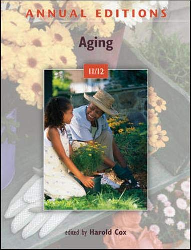 9780078050862: Annual Editions: Aging 11/12