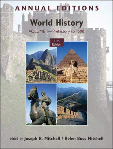 9780078050879: Annual Editions: World History, Volume 1: Prehistory to 1500
