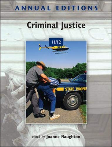 9780078050886: Annual Editions: Criminal Justice 11/12