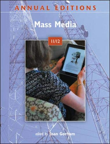 9780078050909: Annual Editions: Mass Media 11/12