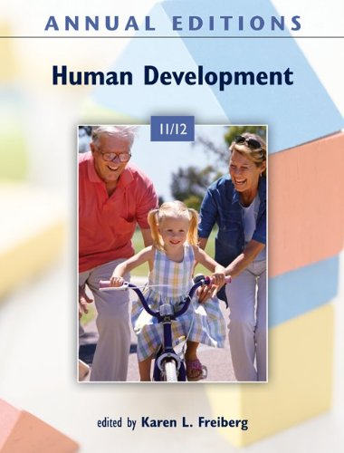9780078050923: Annual Editions: Human Development 11/12