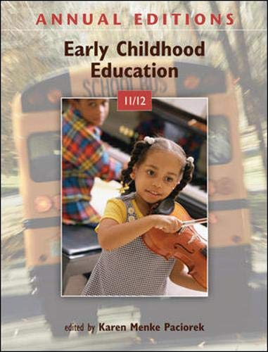 9780078050947: Annual Editions: Early Childhood Education 11/12
