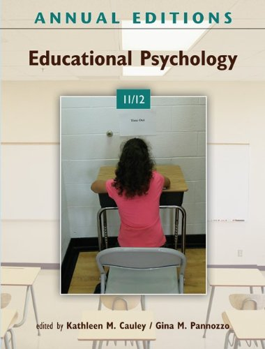 9780078050954: Annual Editions: Educational Psychology 11/12