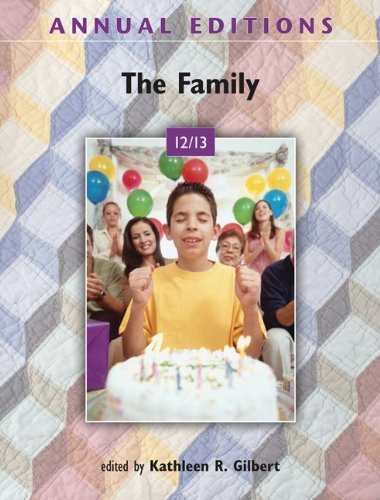 9780078051043: The Family (Annual Editions: Family)