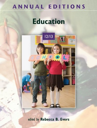 9780078051067: Annual Editions: Education 12/13