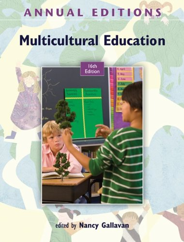 9780078051098: Annual Editions: Multicultural Education, 16/e
