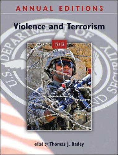 9780078051111: Annual Editions: Violence and Terrorism 12/13