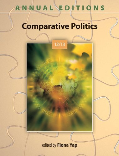 9780078051166: Annual Editions: Comparative Politics 12/13