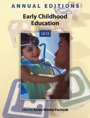 9780078051265: Annual Editions: Early Childhood Education 12/13
