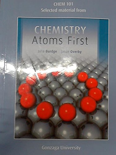 9780078051500: Chemistry: Atoms First