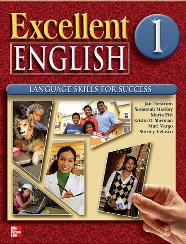 9780078051968: Excellent English Level 1 Student Book with Audio Highlights: Language Skills For Success