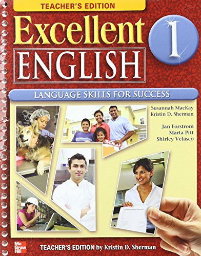 9780078051975: Excellent English, Level 1: Language Skills For Success, Teacher's Edition (Book & CD)