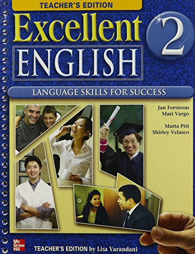 9780078052033: Excellent English Level 2 Teacher's Edition with CD-ROM: Language Skills For Success