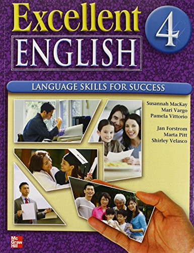 9780078052125: Excellent English Level 4 Student Book with Audio Highlights: Language Skills For Success
