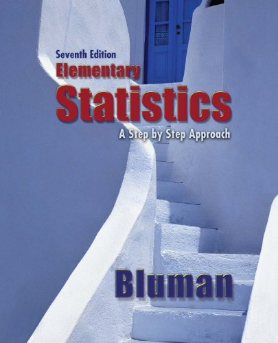 9780078071508: Combo: Elementary Statistics: A Step-By-Step Approach with Student Solutions Manual
