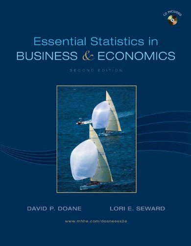 Essential Statistics in Business & Economics: Doane, David; Seward, Lori