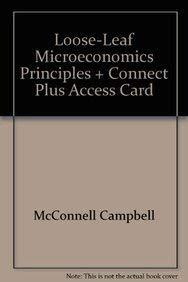 9780078082757: Loose-leaf Microeconomics Principles + Connect Plus Access Card