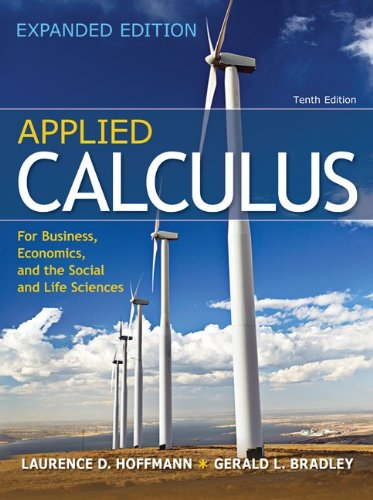 9780078085796: Combo: Applied Calculus for Business, Economics, and the Social and Life Sciences, Expanded Edition with MathZone Access Card