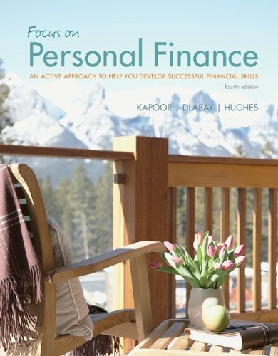Personal Finance [May 15, 2012] Kapoor, Jack;