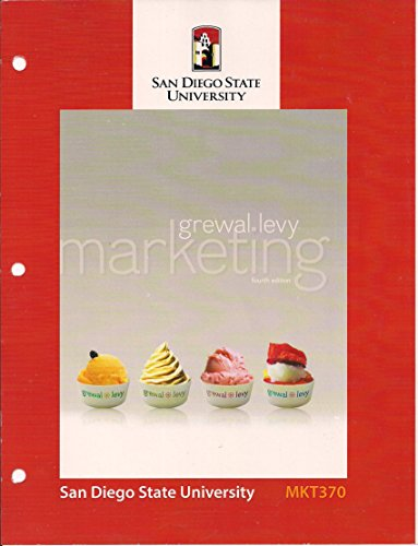 9780078094538: Marketing (Custom for San Diego State University)