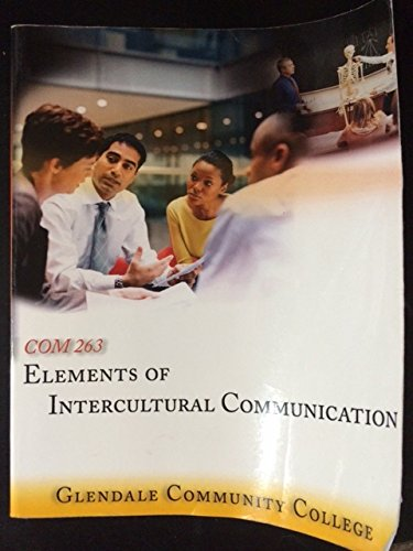 9780078096297: Elements of Intercultural Communication (Glendale Community College)