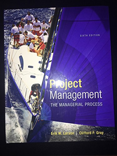 9780078096594: Project Management: The Managerial Process (McGraw-Hill Series Operations and Decision Sciences)