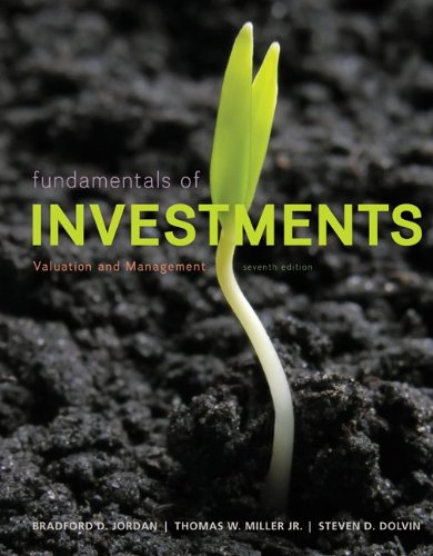 9780078096785: Fundamentals of Investments: Valuation and Management (Mcgraw-Hill/Irwin Series in Finance, Insurance, and Real Estate)