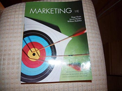9780078097638: Marketing 11E