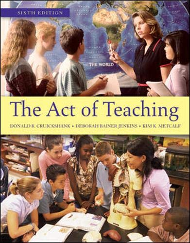 9780078097911: The Act of Teaching