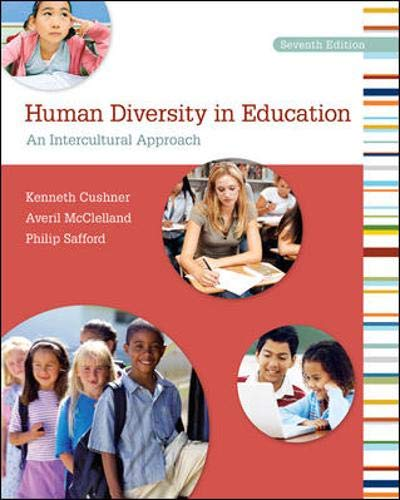 9780078110276: Human Diversity in Education: An Intercultural Approach