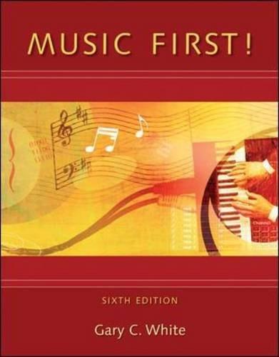 9780078110658: Music First!