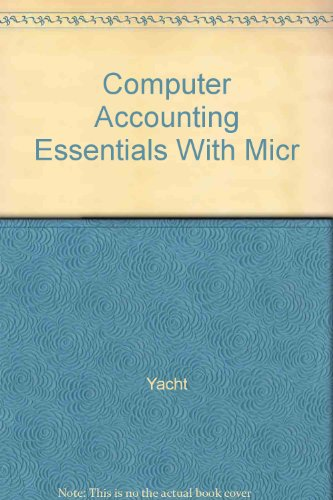 9780078110801: Computer Accounting Essentials With Micr