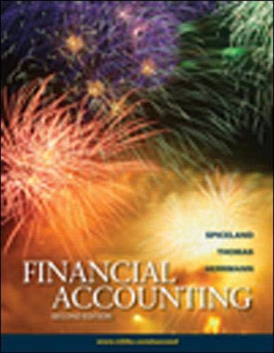 9780078110825: Financial Accounting