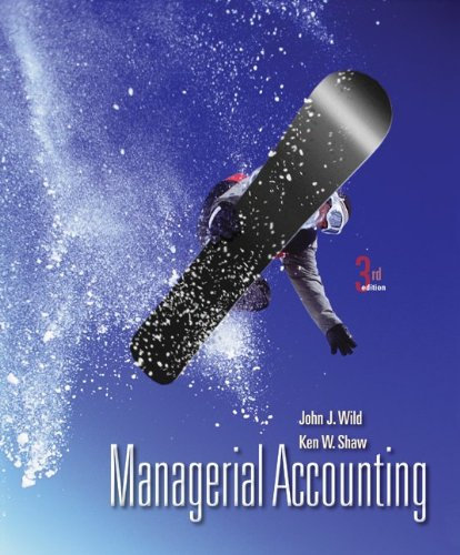 9780078110849: Managerial Accounting