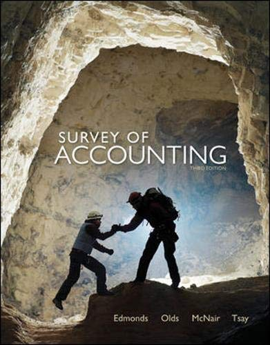 9780078110856: Survey of Accounting