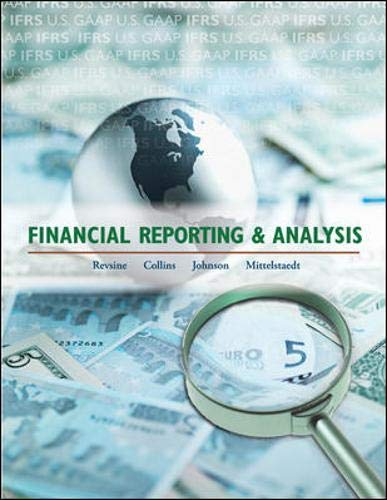 Financial Reporting and Analysis: Daniel Collins; Bruce