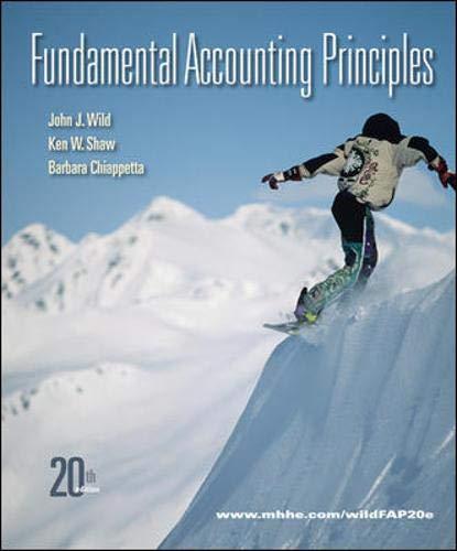 9780078110870: Fundamental Accounting Principles