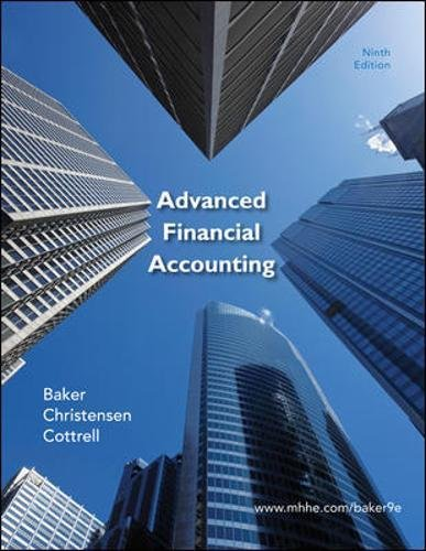 9780078110924: Advanced Financial Accounting