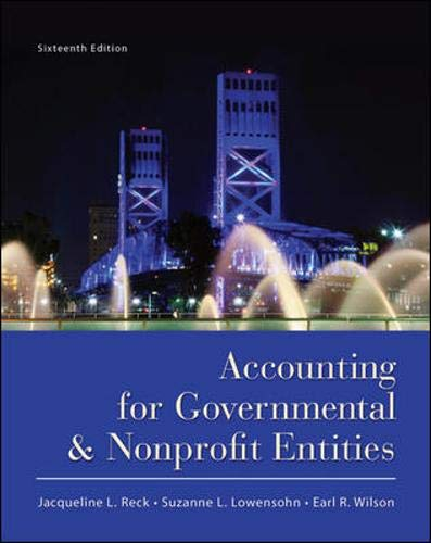9780078110931: Accounting for Governmental and Nonprofit Entities