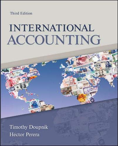 9780078110955: International Accounting
