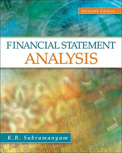 9780078110962: Financial Statement Analysis