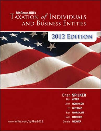 9780078111068: McGraw-Hill's Taxation of Individuals and Business Entities, 2012 edition