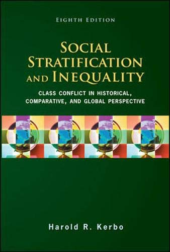 9780078111655: Social Stratification and Inequality