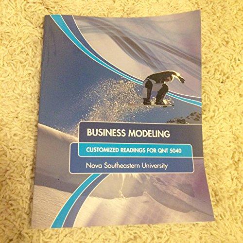 9780078111785: BUSINESS MODELING >CUSTOM<