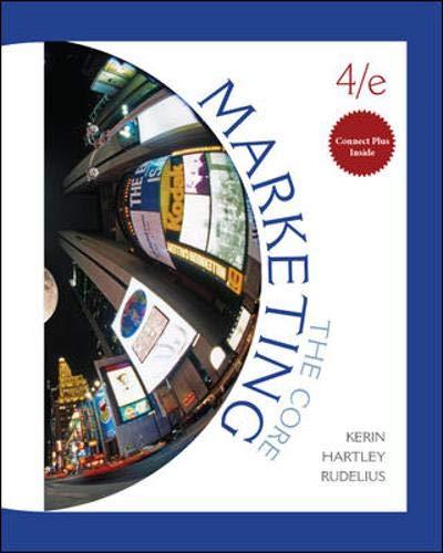 Marketing: The Core: Roger Kerin, Steven