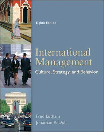 9780078112577: International Management: Culture, Strategy, and Behavior, 8th Edition