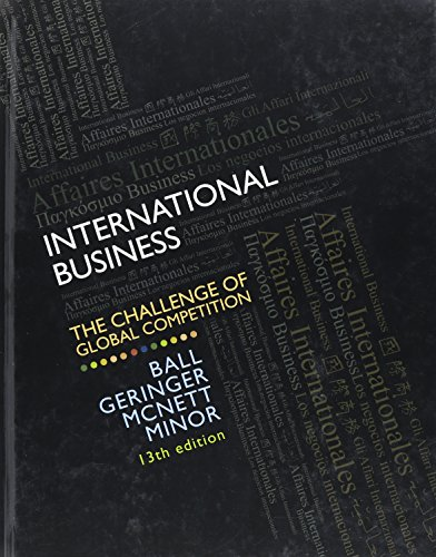 9780078112638: International Business: The Challenge of Global Competition