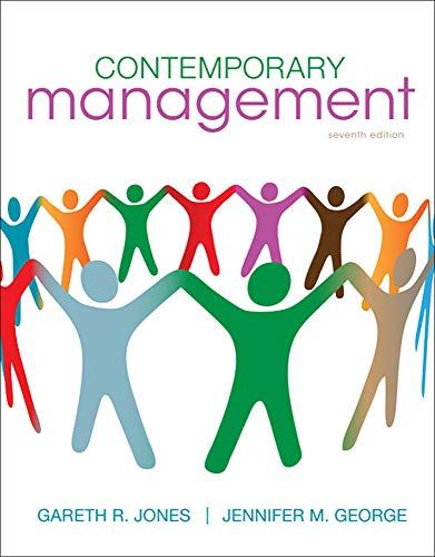 9780078112690: Contemporary Management