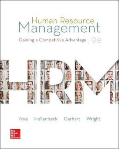 9780078112768: Human Resource Management