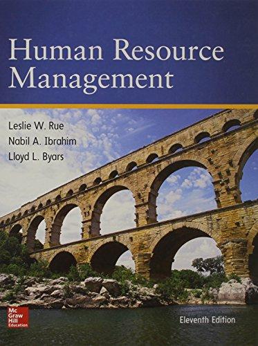 9780078112799: Human Resource Management (Irwin Management)